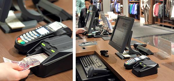 Автоматическая проверка денег на кассе магазина
